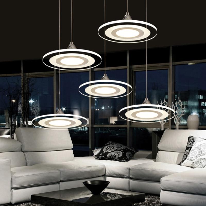 hanglampen koordlamp eetkamer lustres 90-260 v kroonluchter CE UL voor keuken LED plafondventilator hang armaturen MD3213
