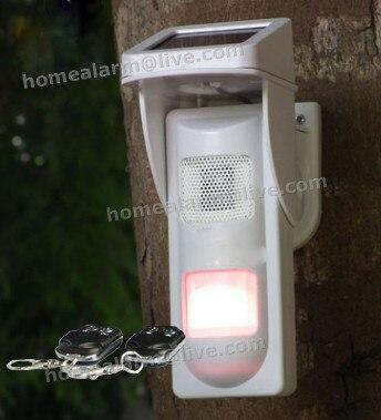 ФОТО Remote Keyfob Arm Disarm On-site Outdoor Security Alarm System Waterproof Pet PIR Motion Sensor Siren Flash Alarm
