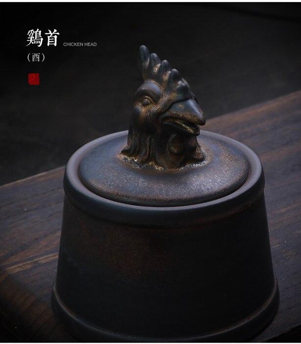 Прах питомца кремации держатель урны собака в память о кошке шкатулка животное на память о похоронах Hond 500 г большой емкости свинья лошадь OXCaskets - Цвет: Chicken Head