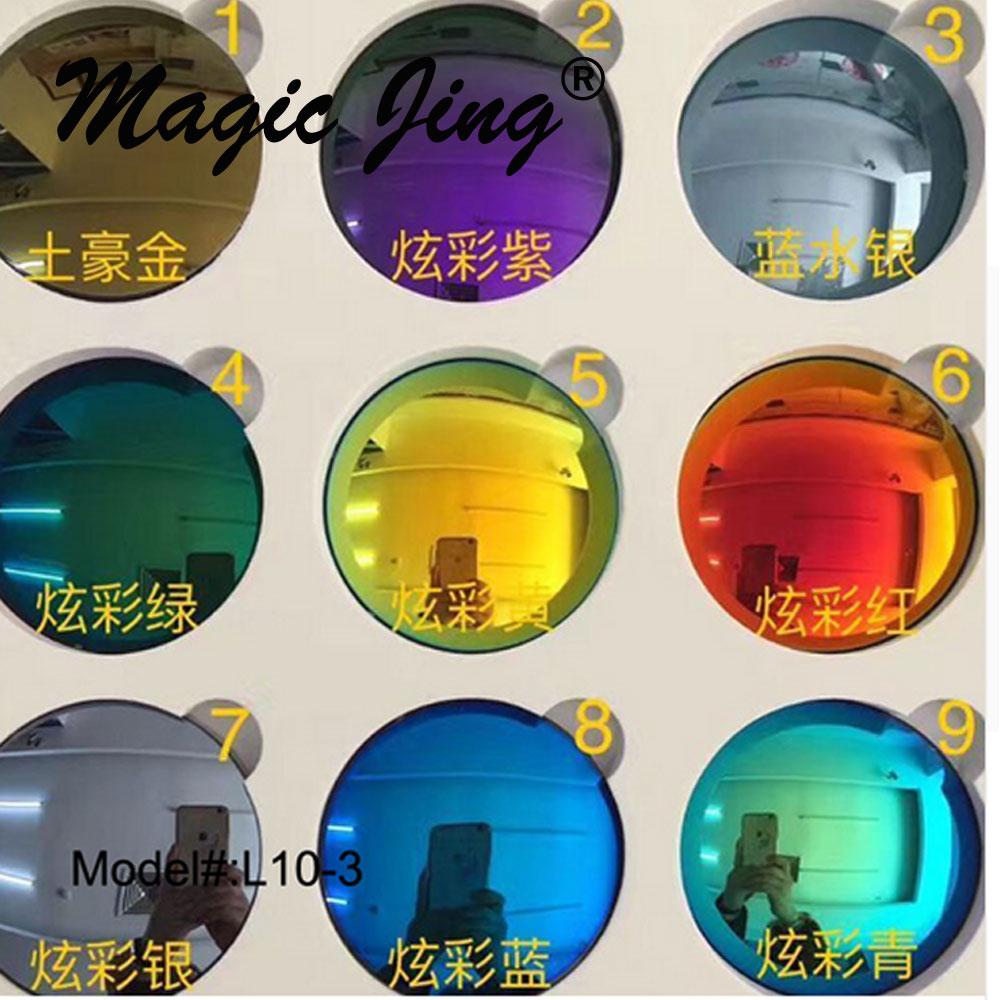 e3a3494cf Magia Mirro Jing 1.502 1.61 Polarizada Lente Miopia RX Prescrição Óculos De  Lente Polarizada Guarda-sóis