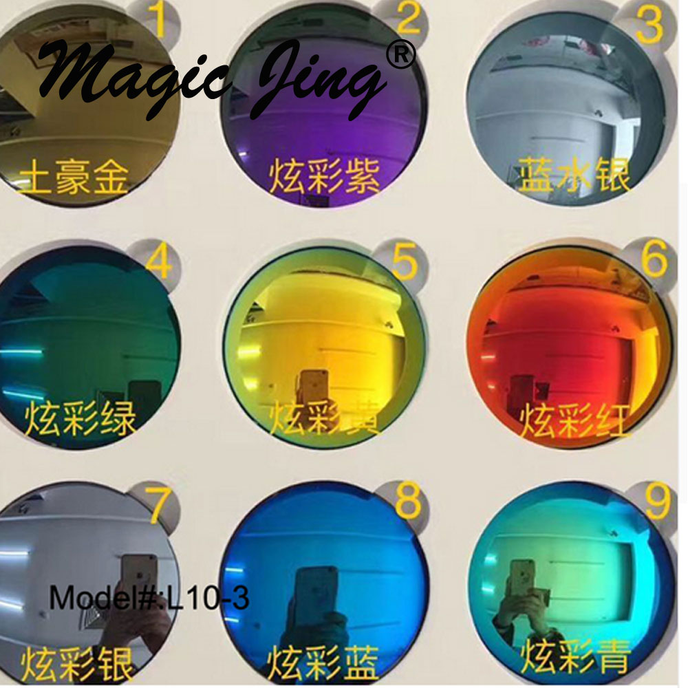 Magic Jing 1.502 1.61 поляризирани Mirro поляризирани рецепти слънчеви очила Очила Сенници Myopia RX Обекти