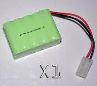 1PCS 12V AA 1000mah Rechargeable Battery Pack 1000mah 2A Ni Mh Nimh Batteries NI MH Cell