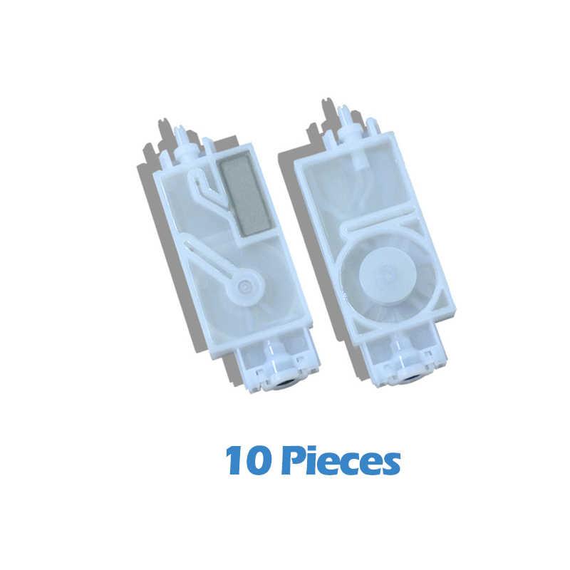 10 Pcs JV33 Tinta Peredam untuk Mimaki JV33 JV5 CJV30 Printhead Damper Kompatibel Pelarut Tinta Filter DX5 Printer Print Head DX5 Damper