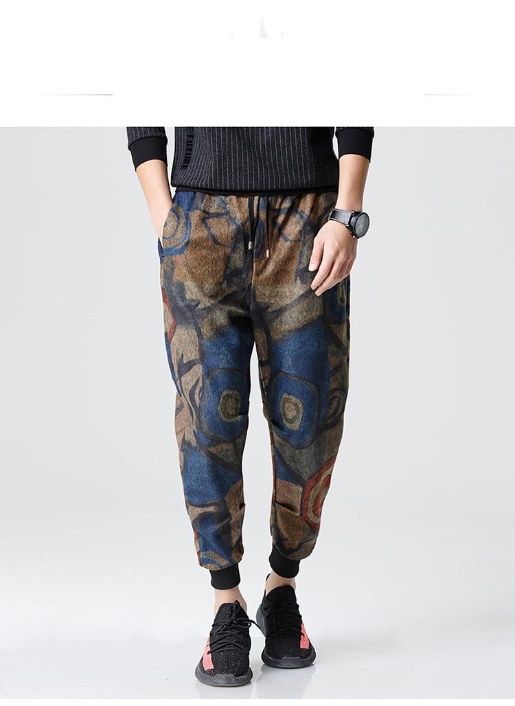 036a53a46 2017 primavera japonesa pantalones florales hombre algodón hip hop  pantalones ropa de la marca de moda los hombres pantalones más el tamaño  3xl en ...