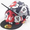 2016 новые дети бейсболка мода мультфильм на открытом воздухе детей Snapback мальчики девочки хип-хоп шляпы шляпа солнца 2260