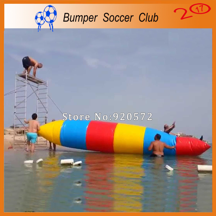 Free Shipping! Free Pump !  8x3m Selling Inflatable Jumping Blob,Inflatable Water Blob,Bouncing Bag ao058m 2m hot selling inflatable advertising helium balloon ball pvc helium balioon inflatable sphere sky balloon for sale