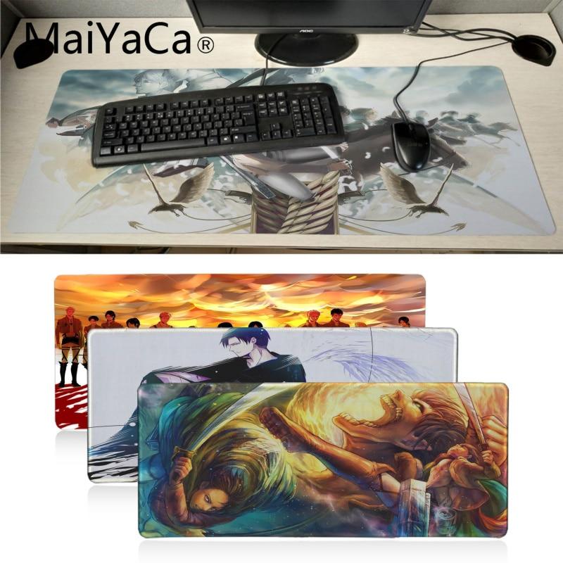 Attack on Titan Mouse Pad Desk Desktop Mousepad Mats