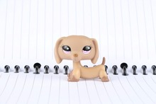 New Pet Collection Figure LPS 932 Dachshund Brown Dog Puppy Girl font b toys b font