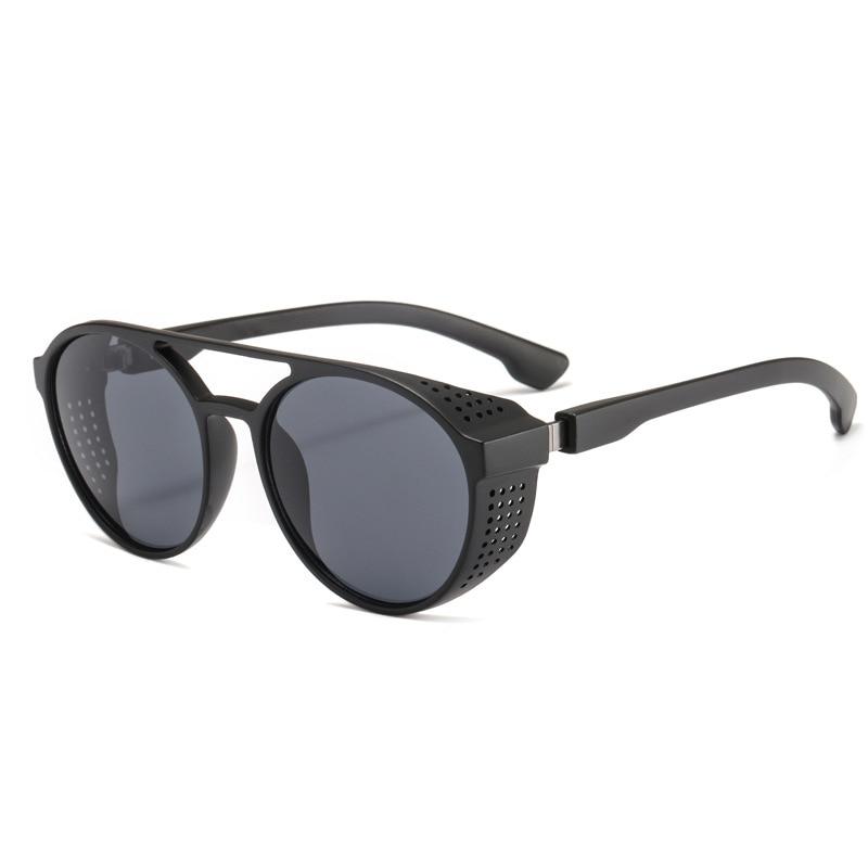 Men 39 s sunglasses plastic metal round frame glasses UV400 fashion ladies sunglasses classic brand driving night vision goggles in Men 39 s Sunglasses from Apparel Accessories