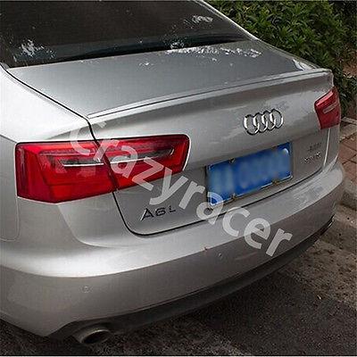 A6 aileron de lèvre de coffre arrière pour Audi A6 berline 2012-2015 apprêt non peint