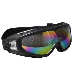 Ветрозащитный шок очки защитные очки цвета радуги объектив очки сварки зеркало лыжи зеркало Лыжные очки