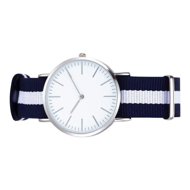 Lovers Diseño Minimalista Reloj Ocasional Movimiento de Cuarzo Buena Galjanoplastia