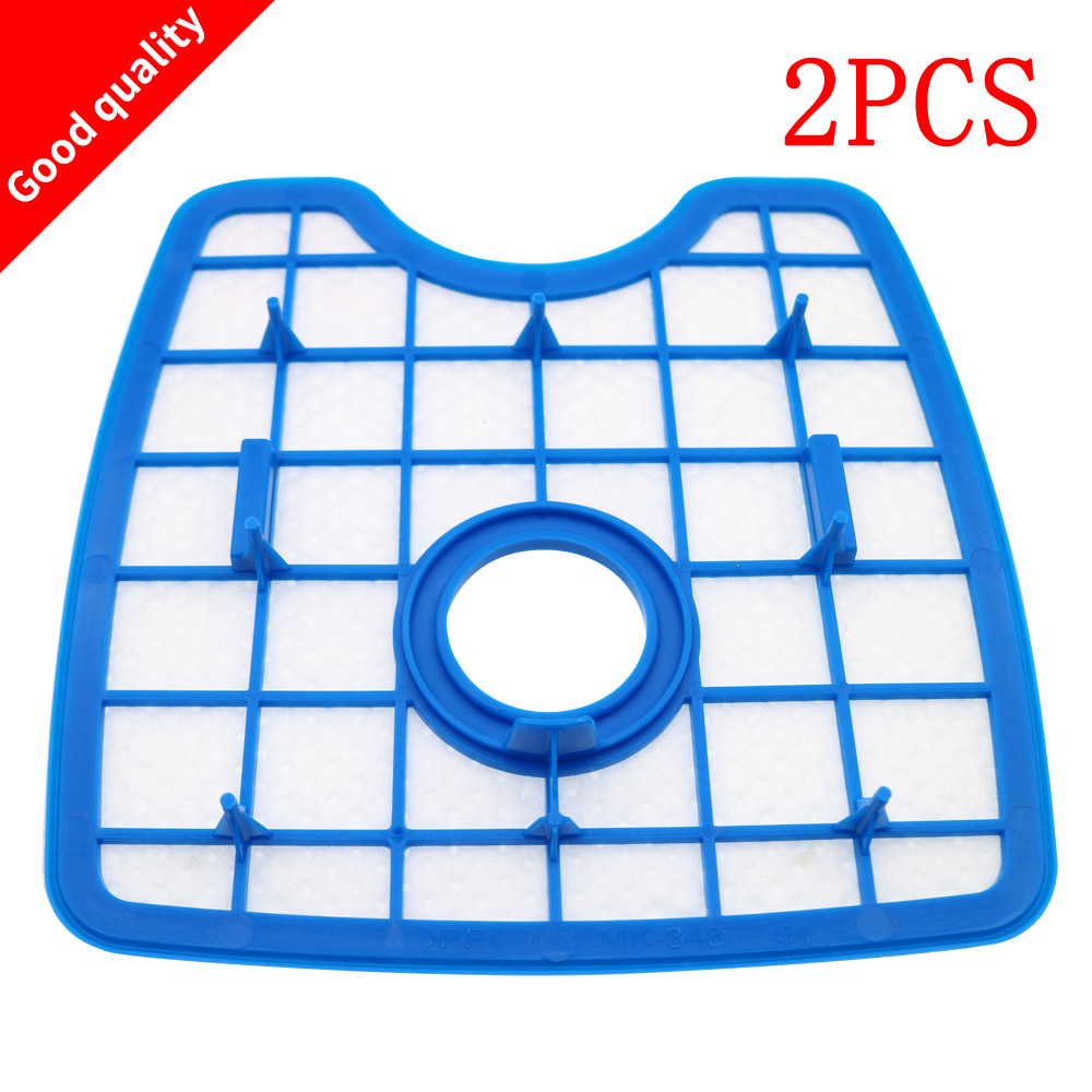 2pcs Free Shipping Vacuum Cleaner HEPA Filter Replacement filter screen for Philips Robot FC8820 FC8810 FC8066 foam felt filter kit for shark rotator powered lift away xl capacity nv755 uv795 vacuum cleaner replacement