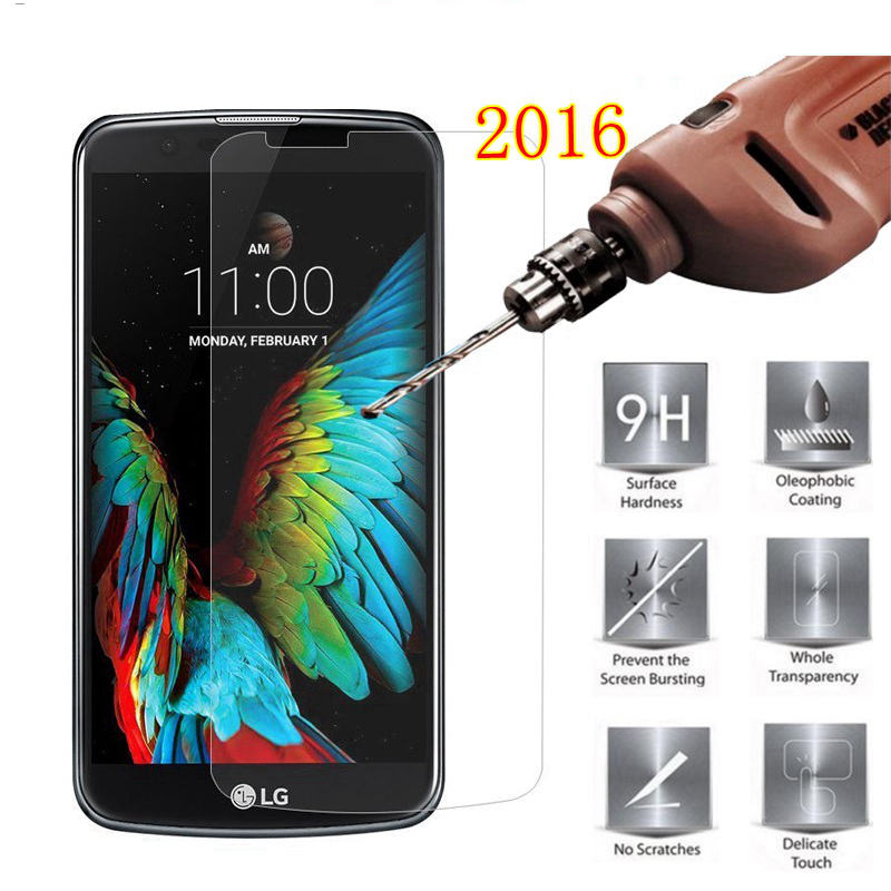 Premium Tempered Glass For LG K10 LTE M2 K420N K410 K430 K430ds Screen Protector protective film For LG K10 case