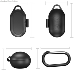 Image 5 - Clamshell Opening Anti shock Flexible Silicone Comprehensive Protective Case Full Cover For Samsung Galaxy Buds Sports Bluetooth