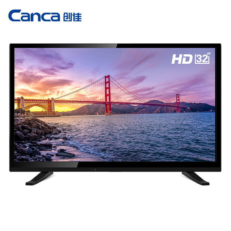 Free Shipping Canca 32inches Smart TV Multi Interface Monitor Narrow Online education Simple Operation