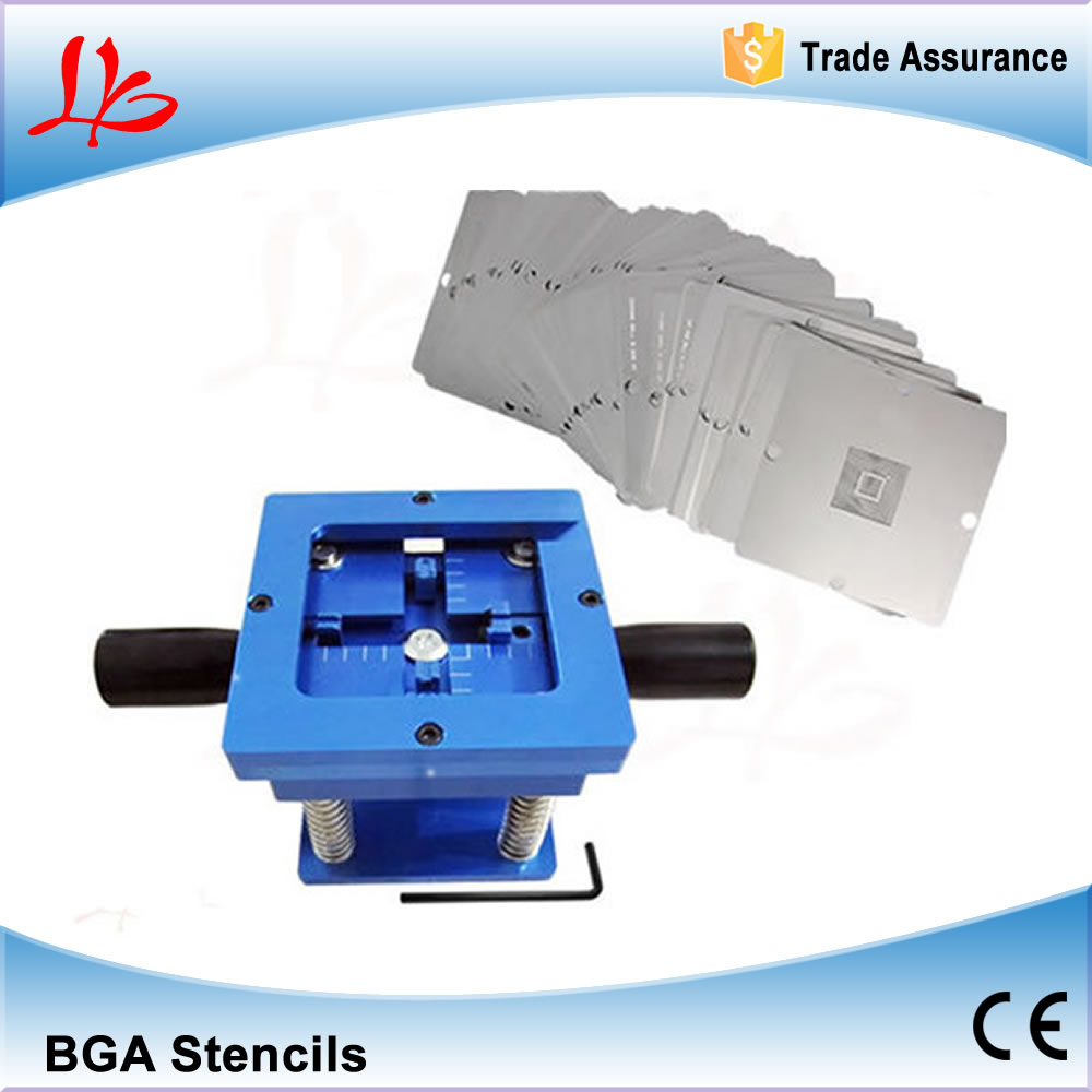 323pcs 90*90mm BGA Stencils and BGA Reballing Station For PS3 XBOX360 PSP WII Notebook laptop,with bga reballing station