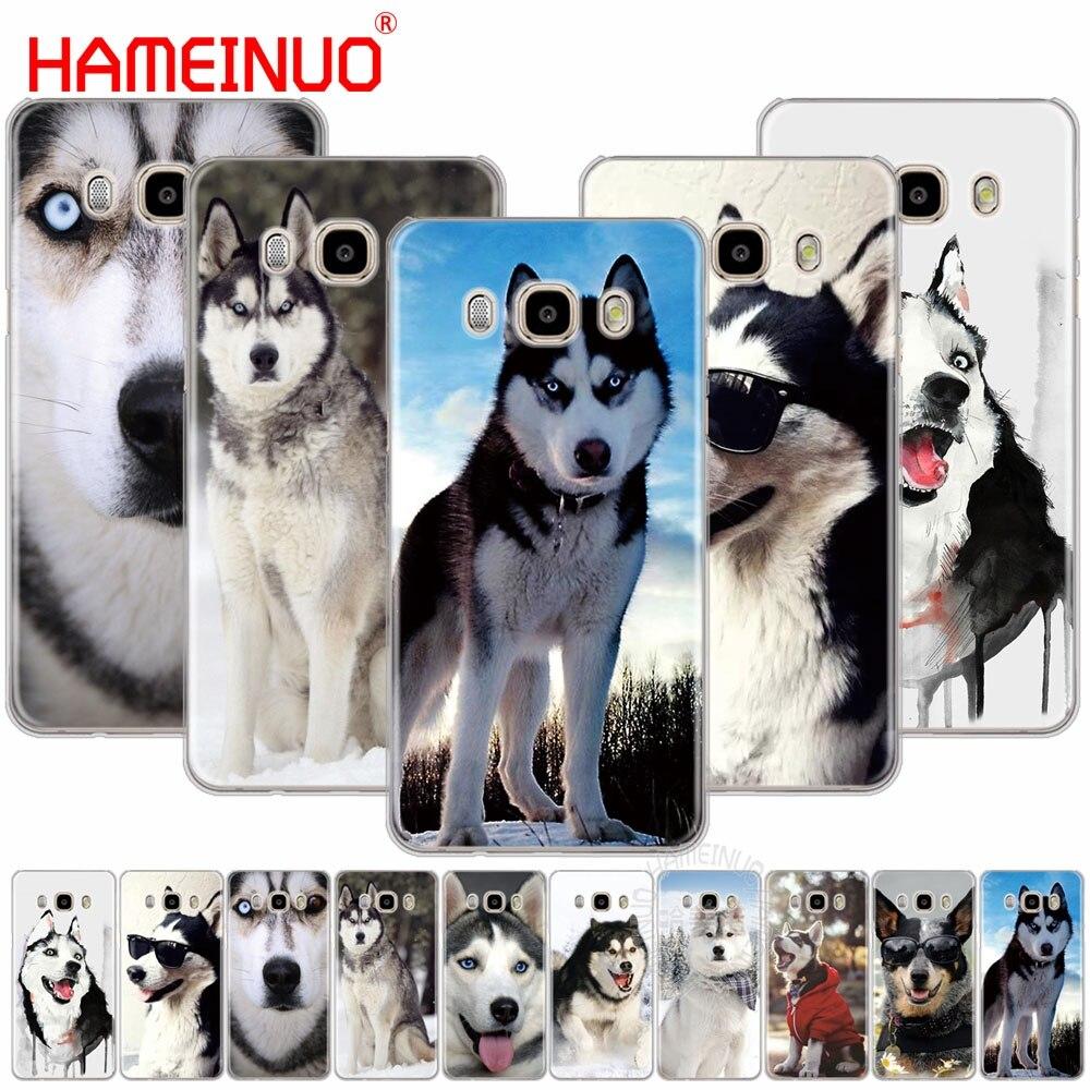 HAMEINUO Husky Dog cover phone case for Samsung Galaxy J1 J2 J3 J5 J7 MINI ACE 2016 2015 prime