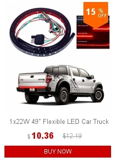 1x12v 60 Flexible Led Light Strip Tailgate Bar Backup