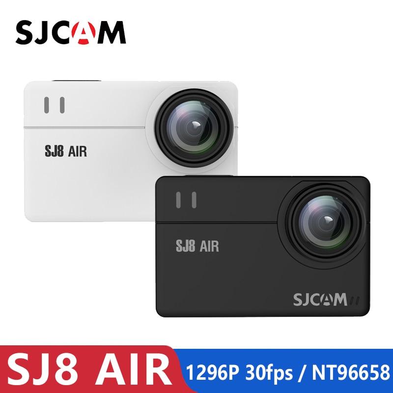 Original SJCAM SJ8 Air Sports Action Camera 1296 P 30fps Novatek NT96658 Wi-fi À Prova D' Água Esporte DV