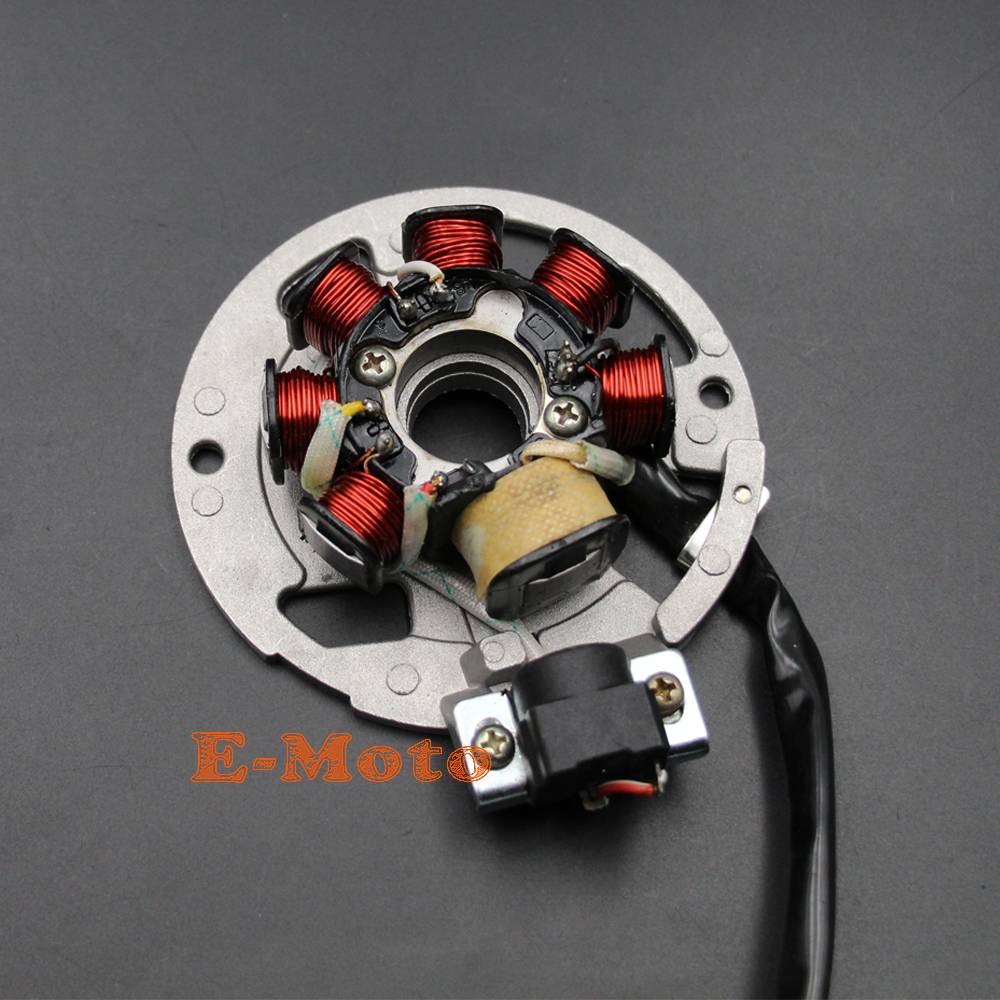6 Wires 49cc 50cc 2 Stroke Scooter 1pe40qmb Jog Minarelli Engine Wiring In Control Stator Magneto New E Moto Motorbike Ingition From Automobiles Motorcycles On