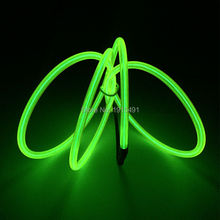 NEW 1-10Meters 10 Color Select EL Wire Luminous 5.0mm Glowing Electroluminescent LED Holiday light For Car Wedding Decoration
