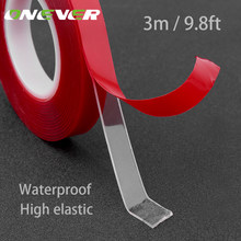 Onever 300cm Length Car Sticker Heat Resistant Acrylic Self Adhesive Foam Double-sided Adhesive Multi-functional Car Accessories(China)