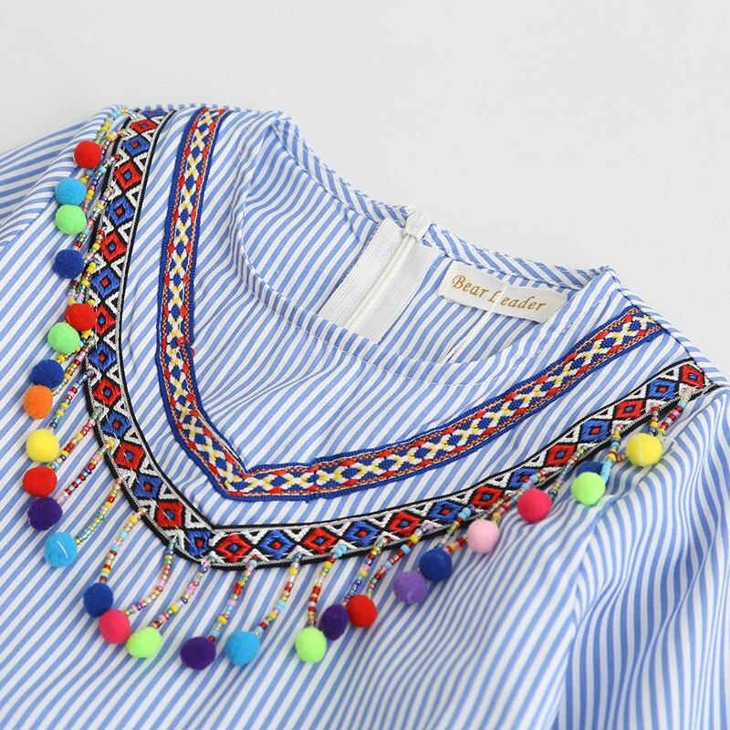 Lollas Girls Dress Printing Princess Dress Long Sleeve Famous ethnic wind ball