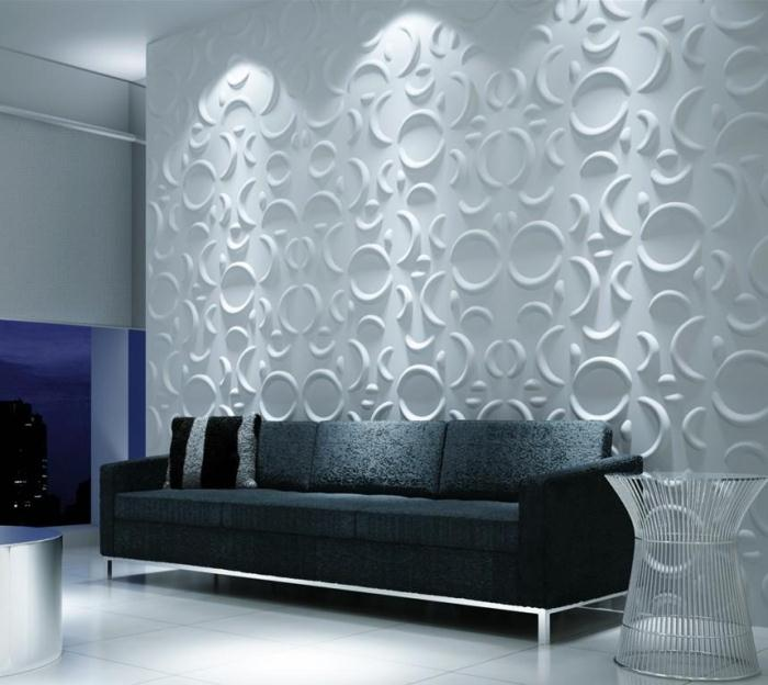 Decorate Material 3d Wall Panel Cover Board Three
