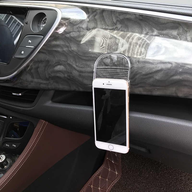 1 cái hình dính chắc Gel Bảng dụng cụ Silicone chống trượt miếng lót phụ tùng ô tô cho Xe Kia Rio K2 K3 K5 k4 Cerato, linh hồn, Forte, Sportage R,