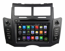 """Quad core HD 2 din 6.2 """"Android 5.1 PC Del Coche de Radio DVD para Toyota Yaris 2005-2011 Con GPS 3G/WIFI Bluetooth IPOD TV USB AUX IN"""