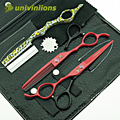"""Univinlions 6 """"парикмахерская левая рука ножницы левой рукой парикмахерские ножницы парикмахерская ножницы левша истончение ножницы"""