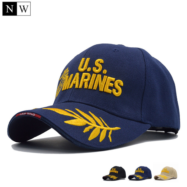 NORTHWOOD  2018 Tactical US Marines Cap Mens Baseball Cap US Army Hat  Snapback Caps Adjustable Navy Seal Casquette Tactical Cap 14f951b8caf7