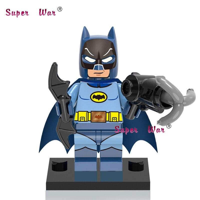 20 штук Звездные войны супергероев Marvel Бэтмен комиксы строительные блоки для девочек и мальчиков для детей Рождественский Рисунок Кирпичи М...