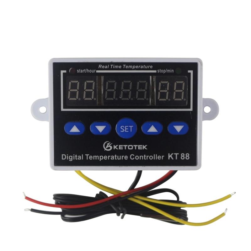 HTB1etyWnnTI8KJjSsphq6AFppXad Digital Thermostat 12V 24V 110V 220V Temperature Controller Temperature Regulator Control Switch Relay Output 10A 220VAC
