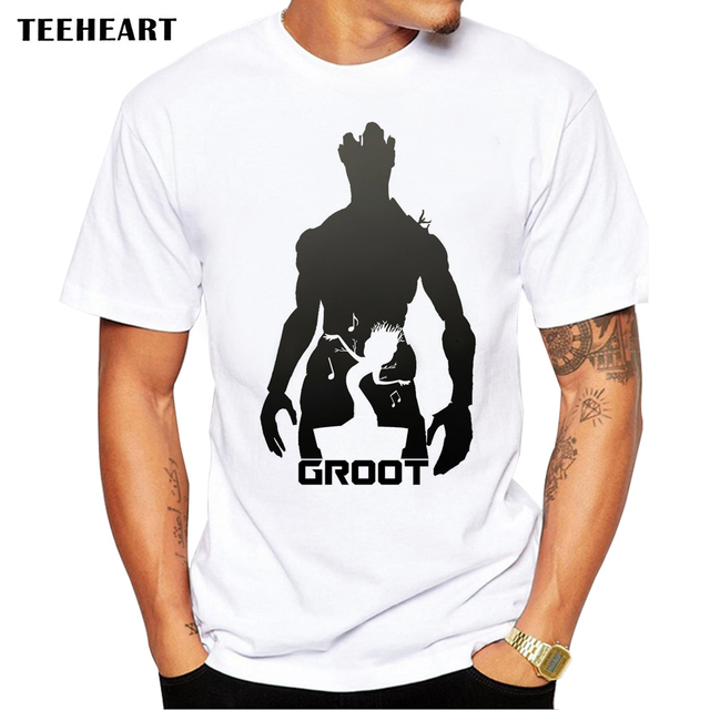 Guardians of the Galaxy 2 men t-shirt Anime baby pop groot Summer funny I AM GROOT T Shirt Male Cool Tops Tees Homme Tshir la633