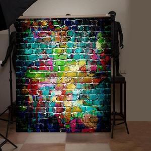 Image 1 - 5 Sizes Brick Texture Photo Background Cloth Plate Photo Backdrop Studio Photography Props Screen Home Decor Studio Accessories