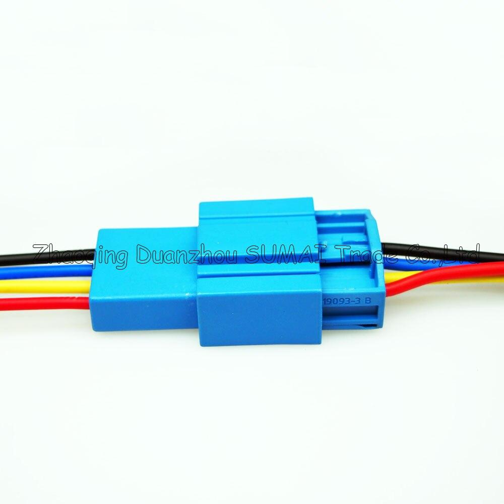 4 Pin autostecker, Auto Lautsprecher stecker mit 17 AWG kabel, Auto ...