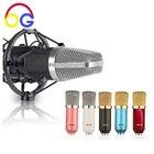 OGV BM700 Condenser Microphone Pro Audio Studio Vocal Recording Mic KTV Karaoke With Shock Mount microfone condensador 3.5mm