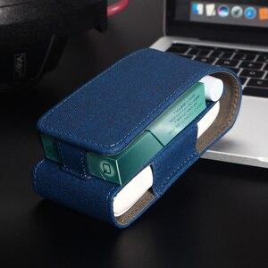 Image 5 - Lüks deri için taşınabilir kapak durumda IQOS 3 torba IQOS 3.0 çok koruyucu sigara durumda kapak IQOS 3.0 çok taşıma çantası