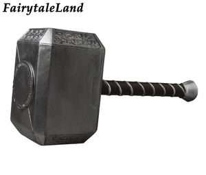 Image 5 - Vengadores: La era de Ultrón Cosplay de Thor disfraz de superhéroe de Halloween traje para hombres adultos Thor Odinson martillo traje botas