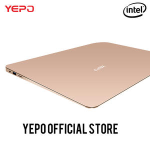 YEPO 737A laptop Apollo 13.3 inch Laptop Intel Celeron N3450 Notebook gold/gray