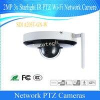 Free Shipping DAHUA Original English Security 2MP 3x Starlight IR PTZ WIFI Network Camera DH SD1A203T GN W Speed Dome