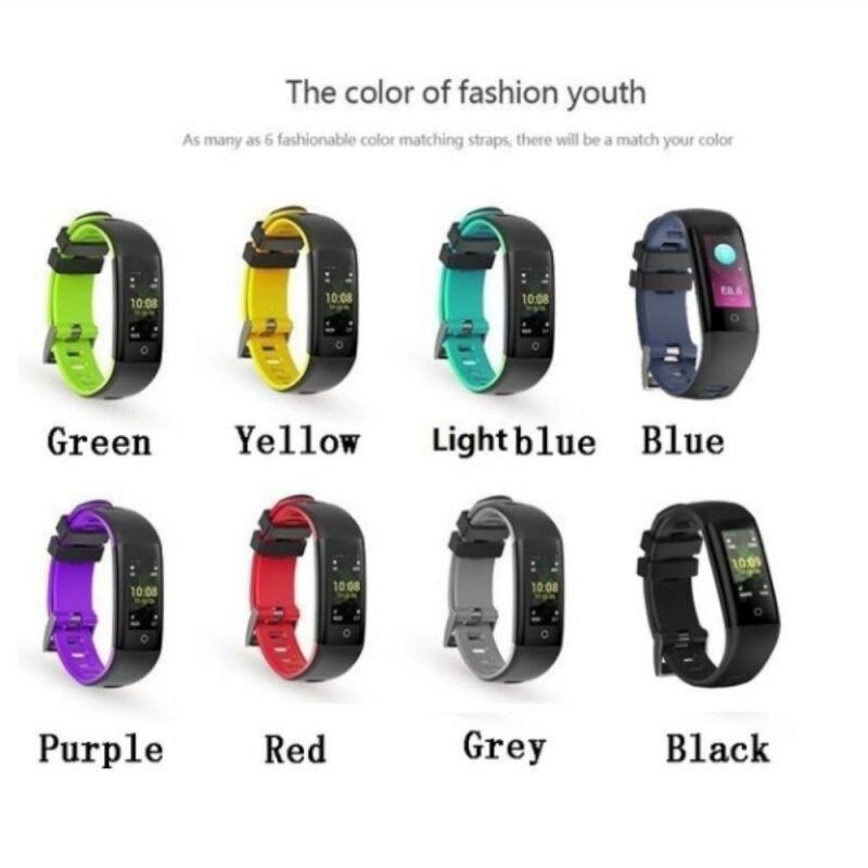 Bracelet de sport Intelligent écran couleur G16 multi-fonction surveillance de la santé rappel d'appel montre intelligente