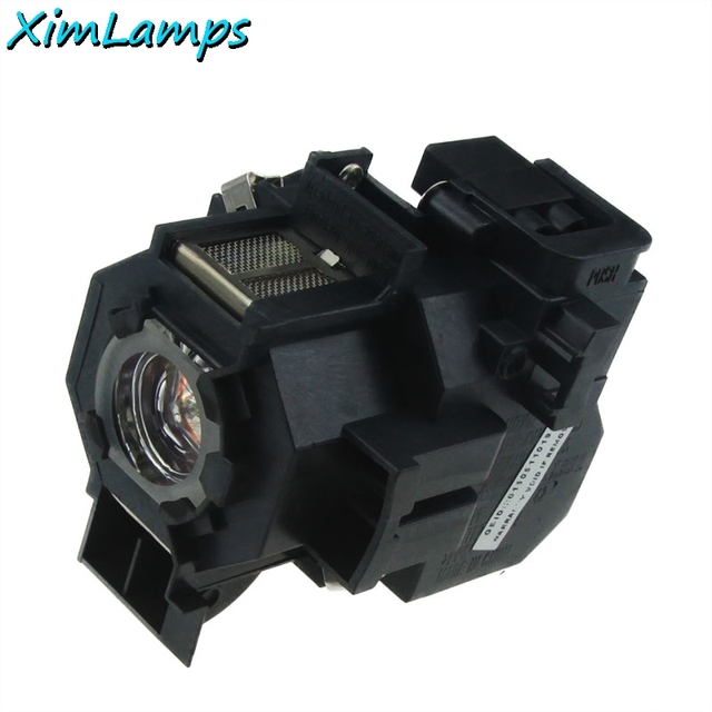 ELPLP41 Replacement Projector Lamp with Housing For Epson PowerLite S5 PowerLite S6 77C 78 EMP-S5 EMP-X5 H283A HC700 V13H010L41