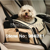 New Arrival High Quality Pet Dog Cat Car Carrier Bag Portable Water Proof Oxford Dog Bags