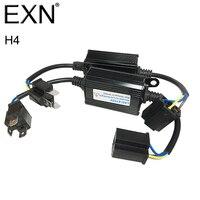2 cái H4 LED Canbus Decoder Lỗi Miễn Phí H4 LED Điện Trở Tải xe Cảnh Báo Hủy Bỏ Tụ Cho H4 DẪN Đèn Pha HID Xenon Đèn H4