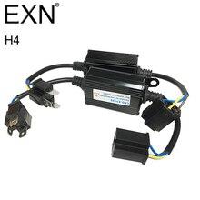 2 шт. H4 LED Canbus декодер ошибок H4 LED нагрузочного резистора автомобиля Предупреждение Canceller Конденсатор для h4 светодиодные фары hid ксеноновая лампа h4
