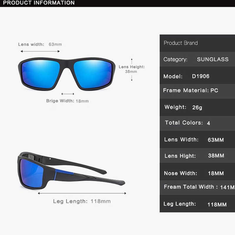 موضة الاستقطاب النظارات الشمسية الرجال النساء العلامة التجارية تصميم كلاسيكي ساحة نظارات شمسية سائق ظلال الذكور مرآة عتيقة نظارات UV400