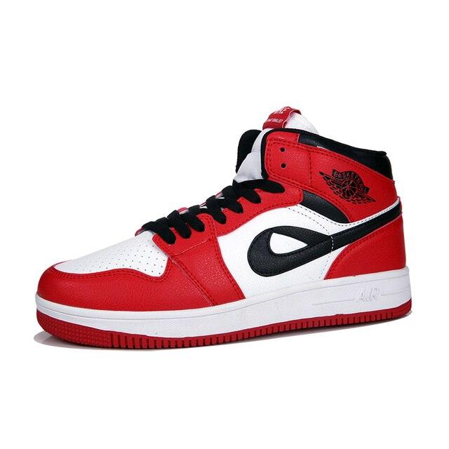 3d98ce69d3e785 AJ1 Men Jordan Shoes Men s Sneakers Air Force One Chicago Jordan Sport  Shoes Man Big Size 46 47 Comfortable Sport Shoes